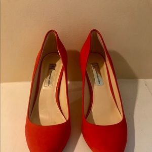 Bright Red INC International Concepts Heels